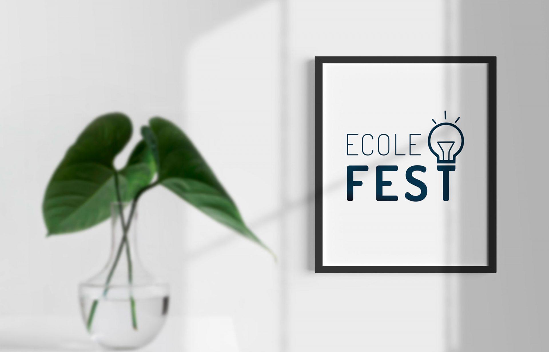Logotipo Ecole FEST