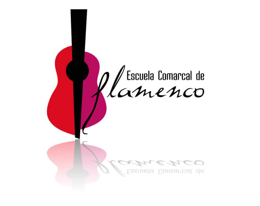 Logotipo Escuela Comarcal Flamenco Bollullos