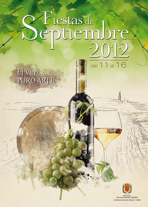 Cartel 'El Vino… Puro Arte'