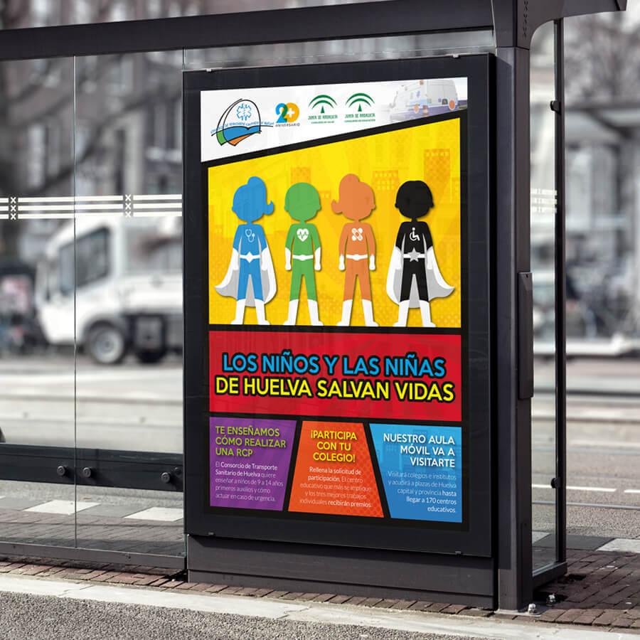 Campaña Los Niños y las Niñas de Huelva salvan vidas