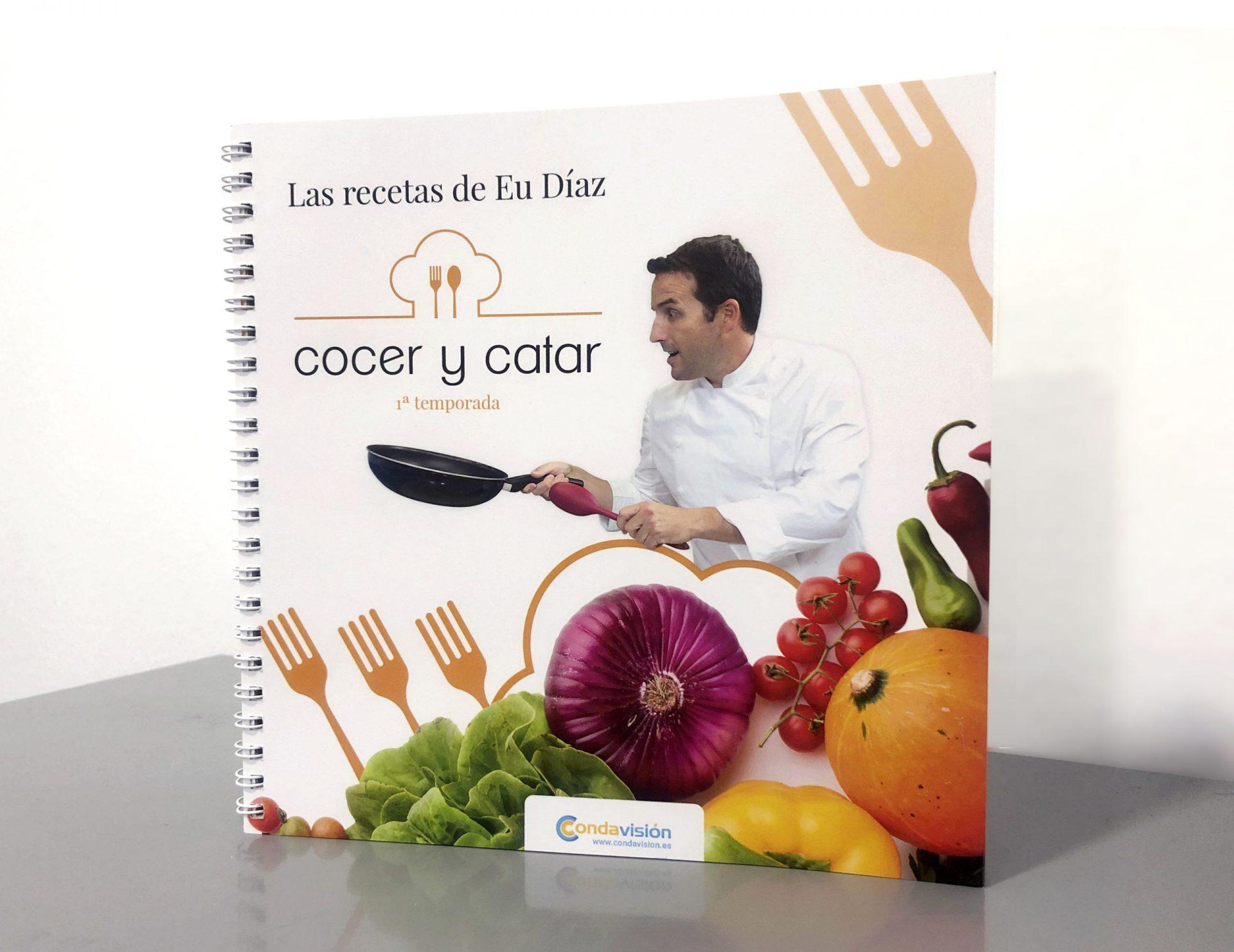 Libro de Cocina 'Cocer y Catar'