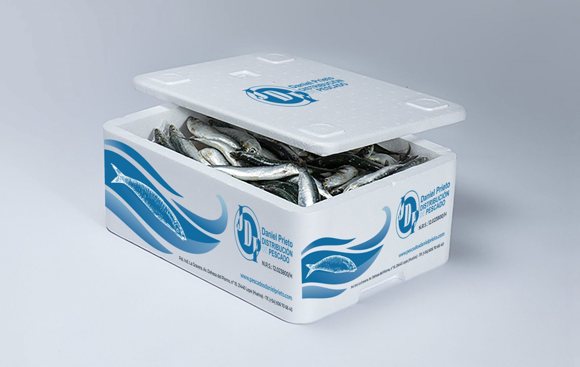 Packaging Pescados Daniel Prieto
