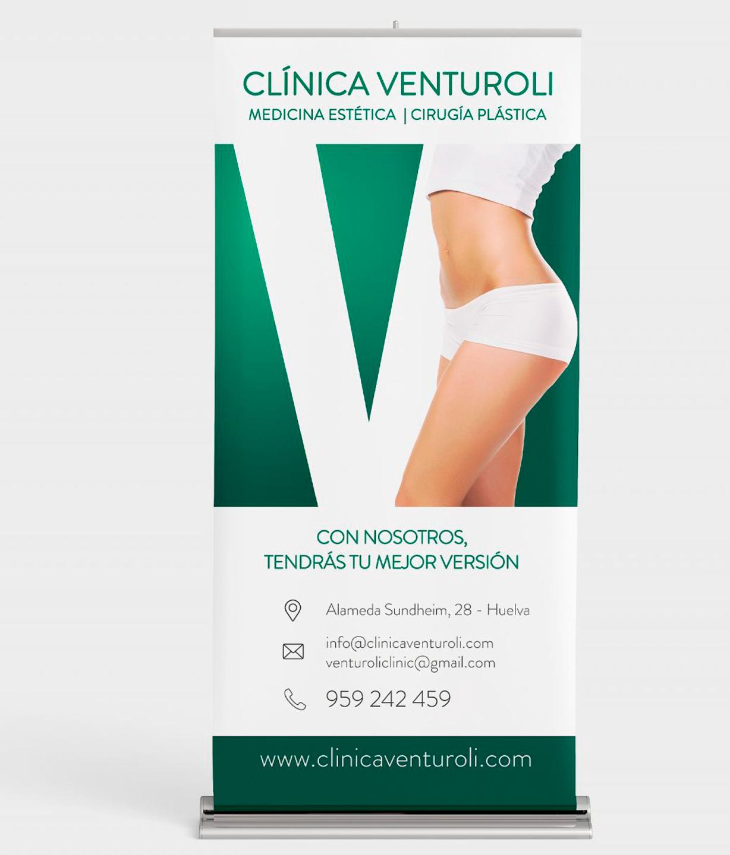 Roll Up Clínica Venturoli